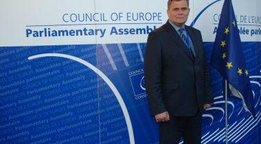 Euroopa Nõukogu Parlamentaarse Assamblee Eesti delegatsiooni liige Raivo Aeg