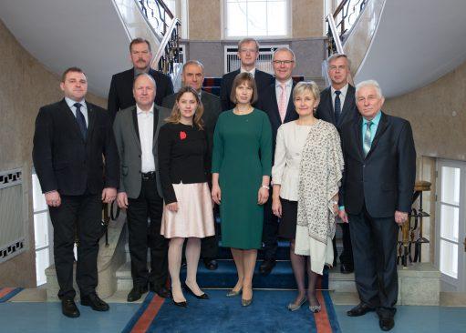 Riigikaitsekomisjoni kohtumine riigikaitse kõrgeima juhi, Vabariigi Presidendiga