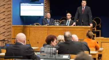 Infotund, peaminister Jüri Ratas vastamas küsimusele