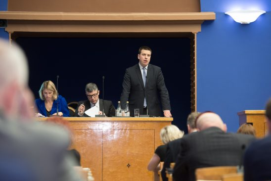 Peaminister Jüri Ratas infotunnis