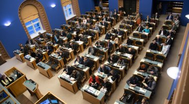 Plenary sitting of the Riigikogu