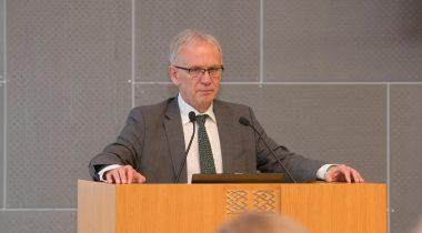 The President of the Riigikogu Eiki Nestor