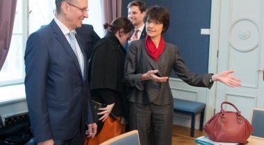 Marianne Thyssen ja Toomas Vitsut