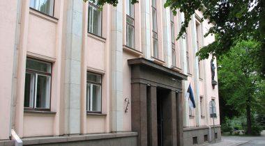 Haridusministeeriumi Tartu hoone.