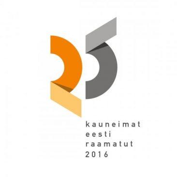 Logo, 25 kauneimat Eesti raamatut 2016