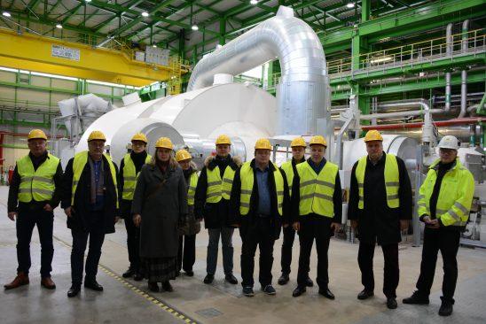 Majanduskomisjon Auvere elektrijaamas