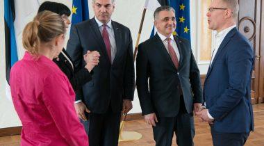 Riigikaitsekomisjoni kohtumine Gruusia presidendi julgeolekunõunikuga