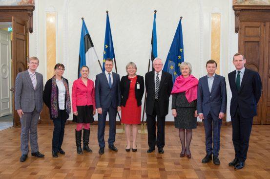 Euroopa Liidu asjade komisjoni liikmete kohtumine City of Londoni ülemlinnapea Andrew Parmley'ga