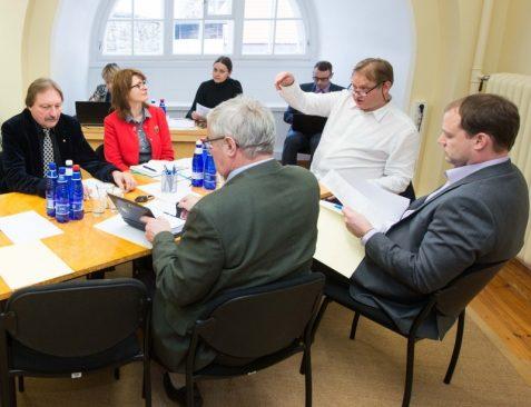 Riigireformi probleemkomisjoni istung