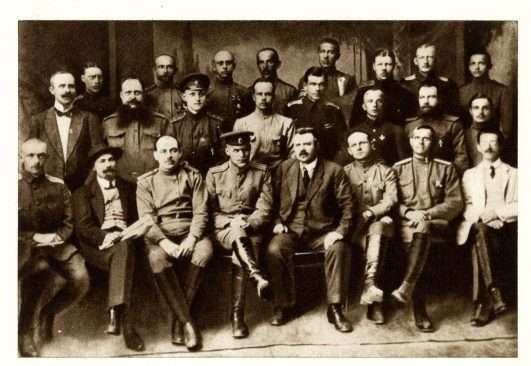Eesti sõjaväelaste konverentsist osavõtjad