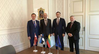 Balti riikide parlamentide maalukomisjonie esimeeste kohtumine