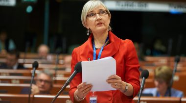Head of the Estonian delegation to the PACE Marianne Mikko (photo: Parliamentary Assembly of the Council of Europe)