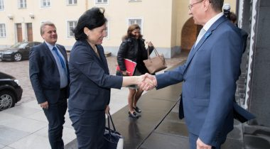 volinik Věra Jourová ja Toomas Vitsut