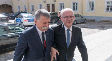 Riigikogu esimehe Eiki Nestori ja Ungari parlamendi spiikri László Kövéri kohtumine
