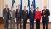 Eiki Nestor ja Bundestagi EL asjade delegatsioon