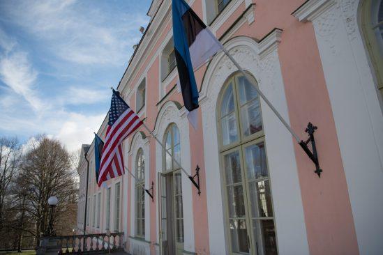 Eesti ja USA lipud