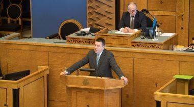 Riigikogu istung - Jüri Ratas, Enn Eesmaa