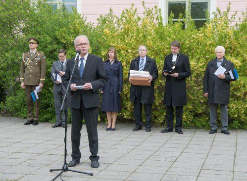 Riigikogu esimees Eiki Nestor, Eesti lipu päev 2017