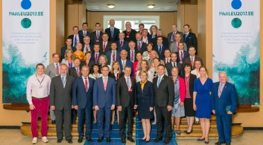 COSAC esimeeste kohtumine Tallinnas