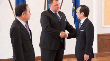 Sven Sester andis Jaapani kolleegidele ülevaate Eesti e-riigi teenustest