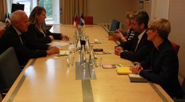 Kivimägi tutvustas Tšehhi aseministrile Eesti lähenemist jagamisteenusele