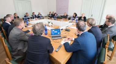 Rahanduskomisjoni liikmete kohtumine kindlustusvahendajate liidu esindajatega 5.09.17