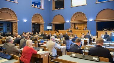 Prime Minister made a political statement before the Riigikogu