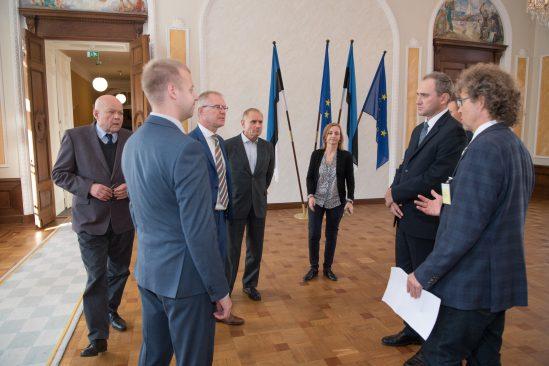 Kohtumine Valgevene diplomaatidega