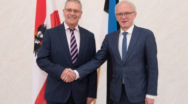 President of the Riigikogu discussed the future of Europe with his Austrian colleague