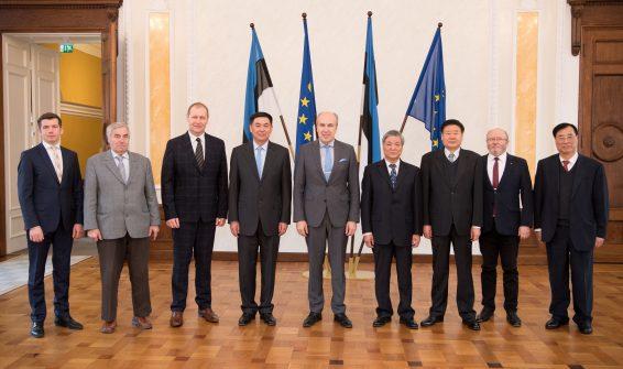 Hiina parlamendi maaelukomisjoni delegatsioon ja maaelukomisjon