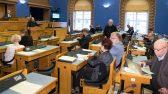 Riigieelarve II lugemine, istungisaal