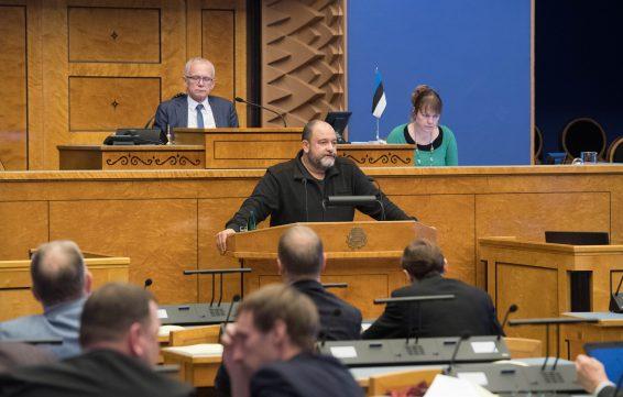 Mihhail Stalnuhhin riigieelarve arutelul