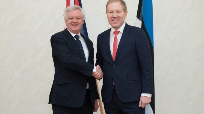 Väliskomisjoni esimehe Marko Mihkesloni kohtumine Ühendkuningriigi Euroopa Liidust lahkumise ministri David Davisega