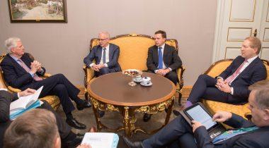 Eiki Nestori ja Michel Barnieri kohtumine