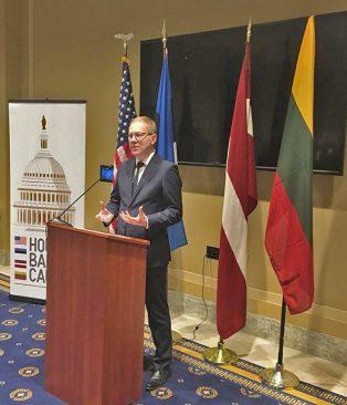 Mihkelson tunnustas Washingtonis Balti sõprusgrupi tegevust