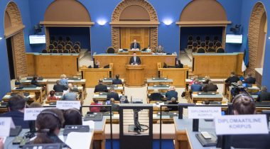 Рийгикогу обсудил итоги председательства Эстонии в Совете Европейского союза
