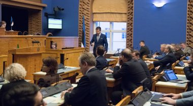The motion of no confidence in Urmas Reinsalu was not supported
