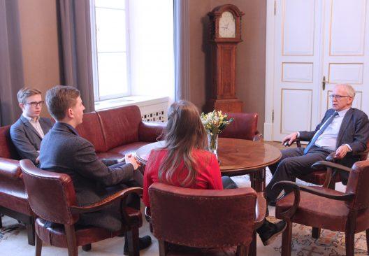 Riigikogus oli kõne all Eestimaa Noorte Manifest