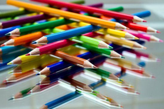 Värvilised pliiatsid. Foto: pixabay.com