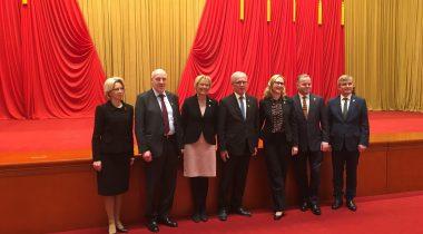 Põhja- ja Baltimaade spiikrid Hiinas Foto: Eesti Suursaatkond Pekingis