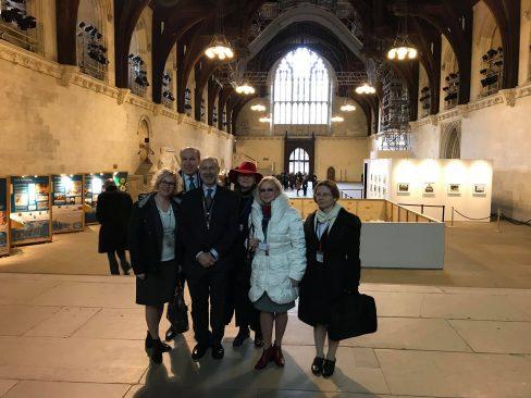 Riigikogu IPU delegatsioon ja Eesti-Suurbritannia parlamendirühm visiidil Londonis