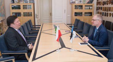 Kohtumine Poola suursaadikuga