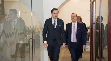 На встрече комиссии по делам ЕС с Мартином Каллананом обсудили выход Великобритании из ЕС