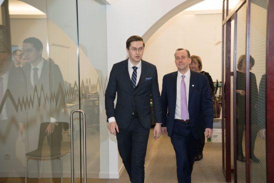 Jaak Madison ja Lord Martin Callanan