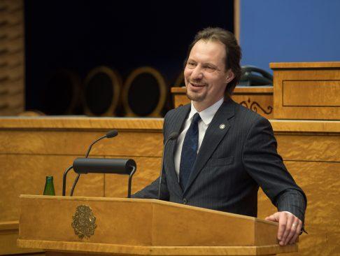 Kultuuriminister Indrek Saar. Foto: Riigikogu Kantselei / Erik Peinar