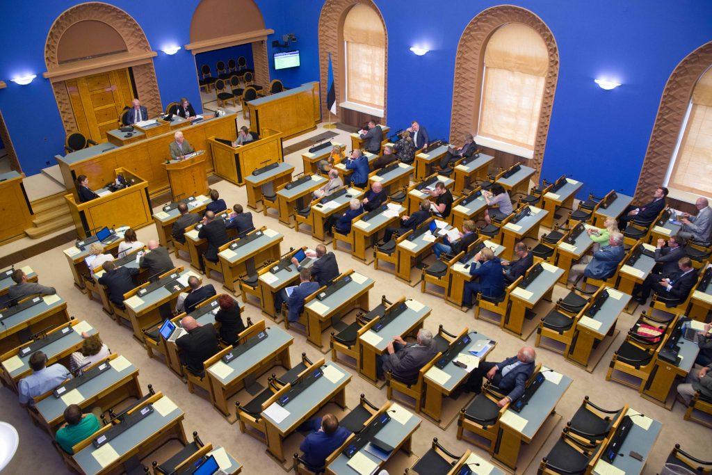 Riigikogu arutas olulise tähtsusega riikliku küsimusena riigireformi. Foto autor: Erik Peinar