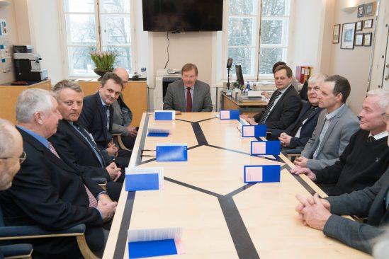 Johannes Kert kohtus Taani reservohvitseride ja kaitsepoliitikast huvitatud poliitikute delegatsiooniga