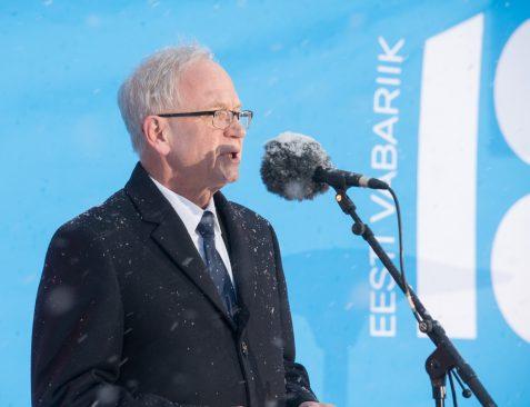 Riigikogu esimehe Eiki Nestori kõne EV100 pidulikul lipuheiskamisel