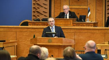 The Riigikogu appointed Janar Holm Auditor General