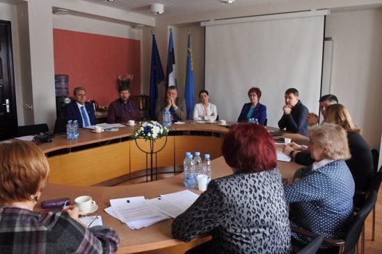 Korruptsioonivastase erikomisjoni väljasõiduistung Kohtla-Järvele